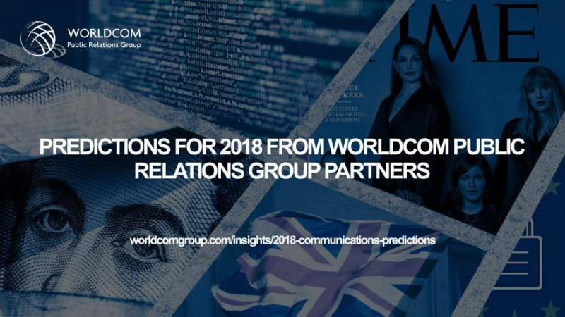 Worldcom PR Group: 2018 este despre încredere, legi și inovație