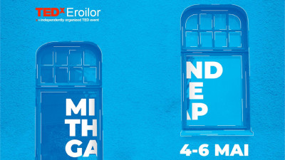 Primii speakeri confirmați la TEDxEroilor - Mind the gap