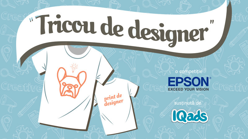 Transforma un tricou intr-un fashion statement si inscrie-te in noua competitie de creatie EPSON si IQads