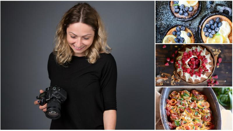 [Gustul pasiunii] Alexandra Juncu (Bucătăria familiei mele): Este adevărat că oricine poate găti; dar nu oricine poate găti, fotografia şi scrie în acelaşi timp