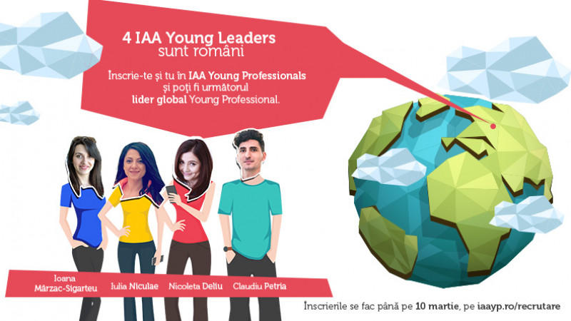 "IAA Young Professionals lanseaza campania de recrutare ""Inspiring young leaders"""