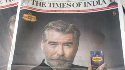 Cum ar fi sa faci puscarie pentru brandul pe care-l reprezinti? Indienii il ameninta pe James Bond