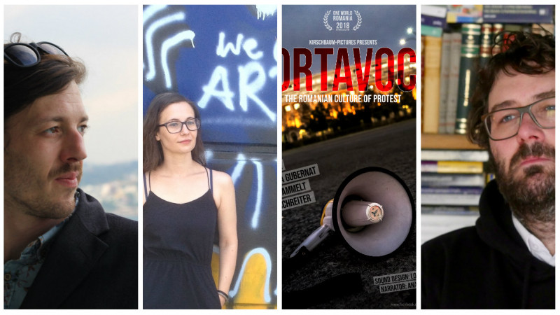 """Portavoce, un documentar despre protestele din România: Cred că am fost pe rând observatori, actori, analiști și cineaști si am încercat să păstrăm o """"neutralitate empatică"""" față de subiect"""
