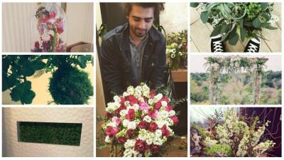 """Tipul cu florile: """"Nu imi place sa fac ceea ce s-a mai facut de mii de ori. Acolo unde putem elimina complet kitschul ne consideram invingatori"""""""
