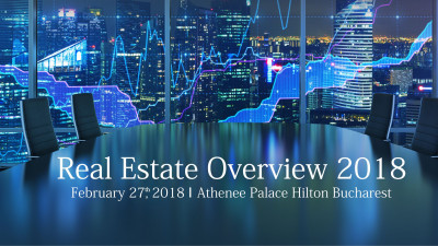Trenduri și schimbări de paradigmă în industria de real estate din România, în dezbatere la conferinţa Real Estate Overview 2018
