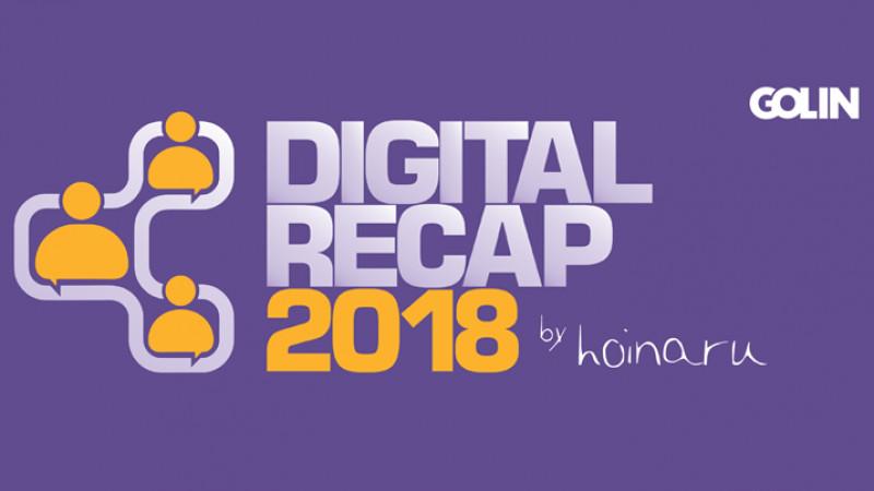 Golin și bloggerul Alex Ciucă lansează cea de-a 7-a ediție a raportului Digital Recap