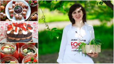 [Gustul pasiunii] Dana Burlacu Visternicu (Prăjiturici și altele): Blogul este cel de-al treilea copil al meu. Când băieţii mei îşi vor lua zborul, ăsta mic rămâne cu mine