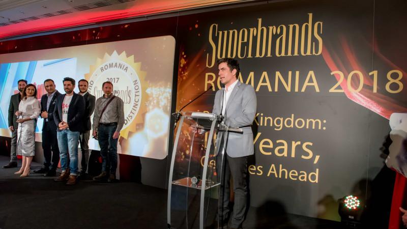 30 de companii au primit trofeele Superbrands la Gala Superbrands România