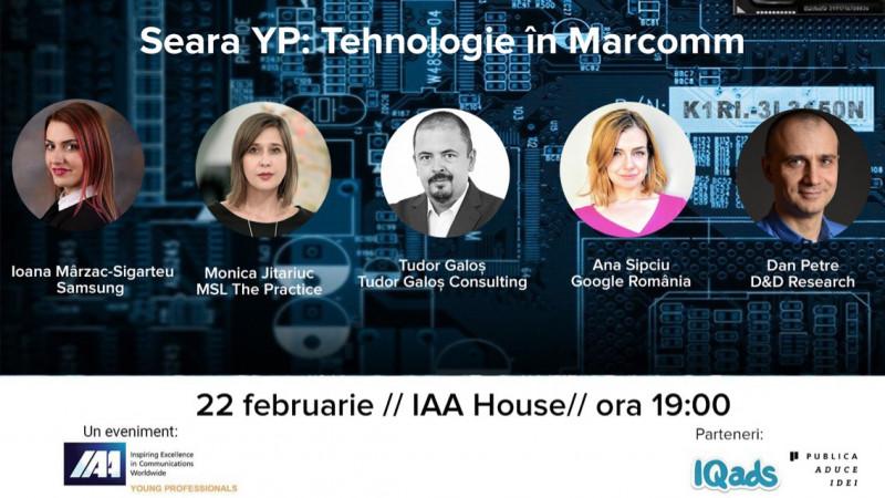 IAA Young Professionals organizeaza Seara YP dedicata tehnologiei in Marcomm