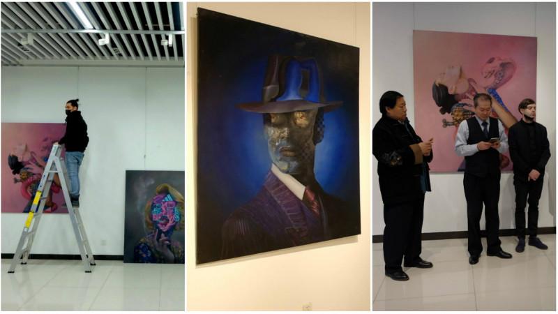 Consumerism si moda in expozitia lui Obie Platon de la Beijing