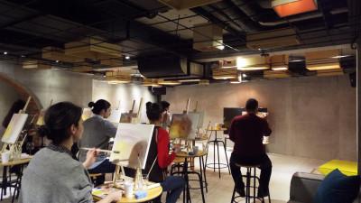 Pictura, vin si ritmuri indie - la Drink Creativ