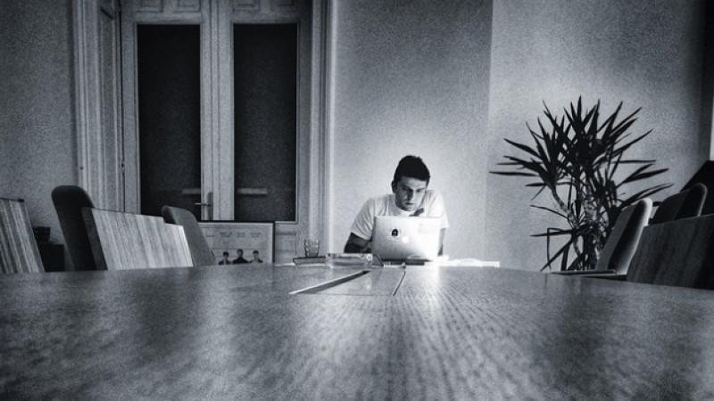 Alex Pomana, contabilul-statistician, face treaba la 99%