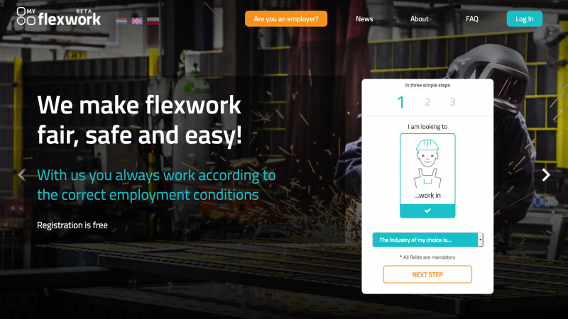 Infinit Agency announces the launch of the Rotterdam based www.MyFlexwork.com, the revolutionary platform that will change flex working in The Netherlands