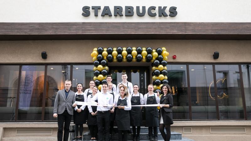 Noua cafenea Starbucks Reserve ™ s-a deschis în centrul Bucureștiului
