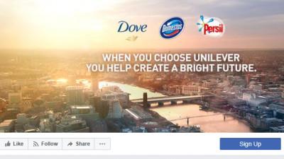 Unilever vrea să renunțe la reclame pe Facebook și Google