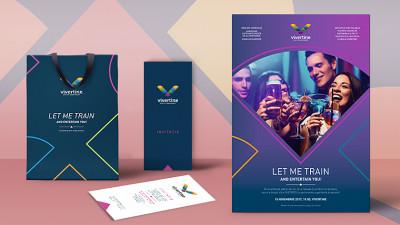 Vivertine - Stationery & branding eveniment deschidere