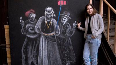 [Tricou de designer] Andreea Toma si babutele ei contemporane