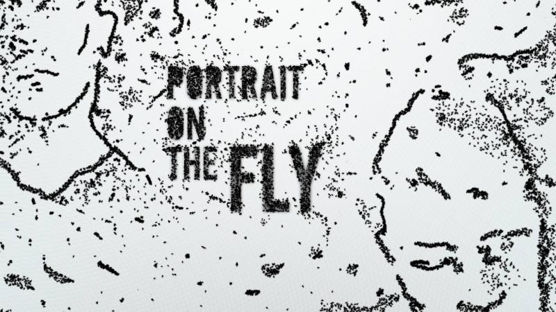 Portrait on the Fly – instalație interactivă, prezentată în premieră la POINT