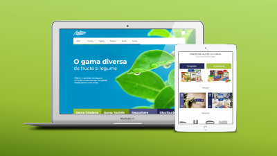 Agrirom - Website