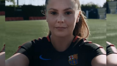 Cu ajutorul W+K Amsterdam, Nike si FC Barcelona te fac sa inveti putina catalana