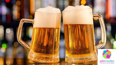 Cele mai vizibile branduri de bere in online si pe Facebook in luna februarie 2018