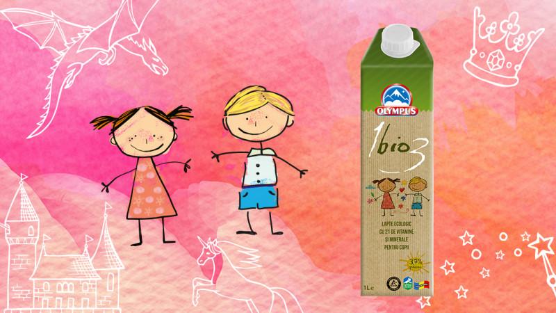 Olympus România prezintă două personaje hazlii în campania de comunicare dedicată produselor 1Bio3