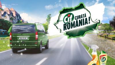 """Cif curăţă România pentru al cincilea an consecutiv, prin programul """"Împreună Curăţăm România Călătorind!"""""""