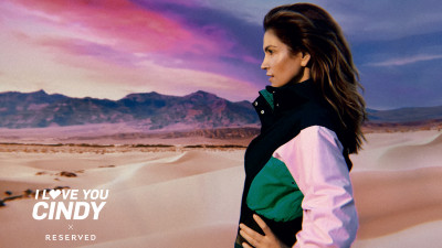 RESERVED o prezintă pe Cindy Crawford, noua imagine a campaniei globale SS18 'I LOVE YOU CINDY'
