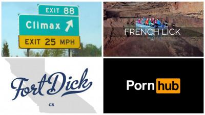 Locuitorii oraselor cu nume porno au membership gratuit la Pornhub