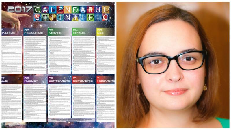 [Povești de crowdfunding] În loc de sfinți, informații utile. Calendarul Științific e scos de Monica Belițoiu și ASUR în fiecare an