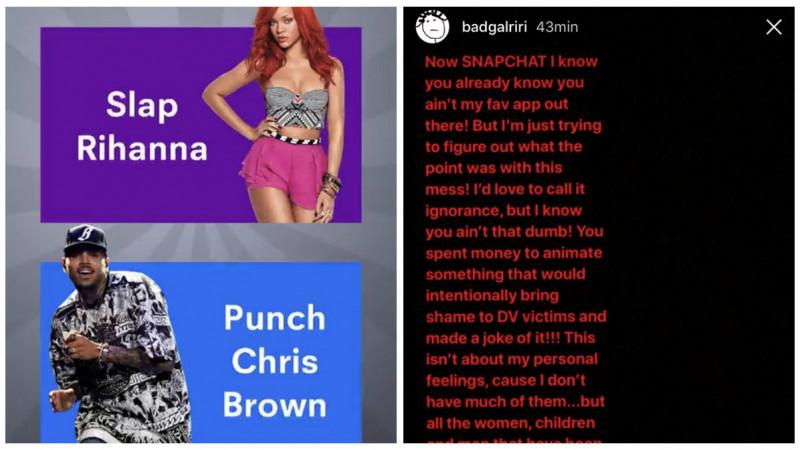 """O reclama a costat Snap Inc. un miliard de dolari. Rihanna: """"I-as spune ignoranta, dar nu poate exista atata prostie"""""""