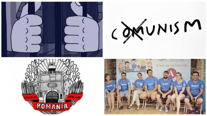 Membrii Forum Apulum s-au cunoscut anul trecut la proteste. Iar recent, au scos ghidul ilustrat al comunismului