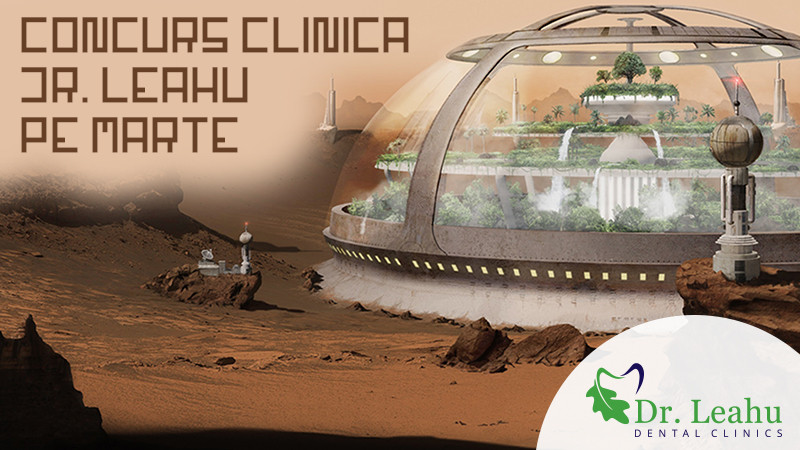 """Clinicile Dr. Leahu lanseaza concursul de design interior: """"Clinica Dr. Leahu pe Marte"""""""