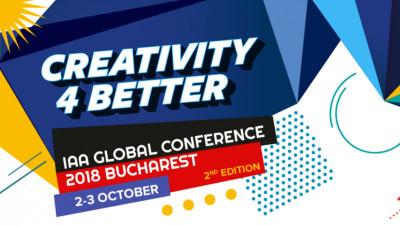 """Conferința Globală IAA """"Creativity4Better"""" a pus primele bilete în vânzare"""