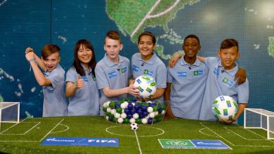 România participă și anul acesta în programul Fotbal pentru Prietenie, organizat de Gazprom