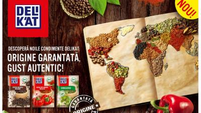 Delikat aduce în bucătăriile românilor o nouă gamă de condimente, cu ingrediente 100% naturale