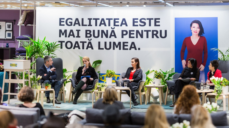 IKEA Group susține egalitatea de șanse la locul de muncă