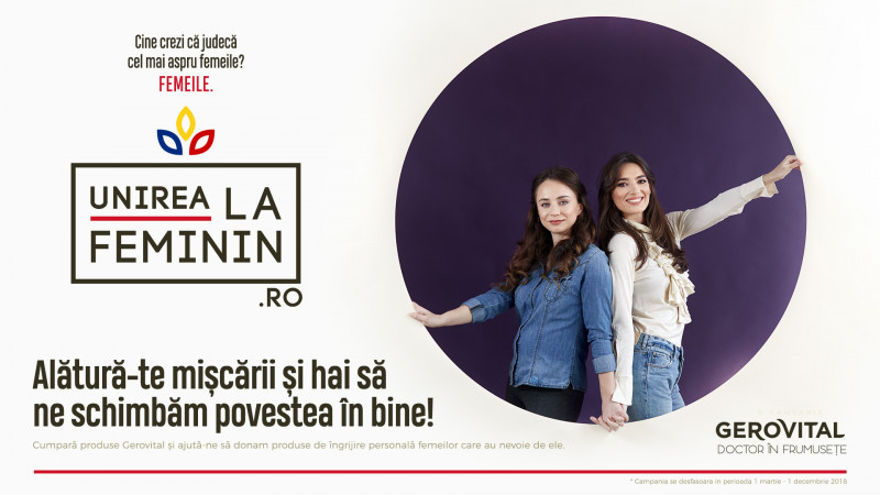 """Farmec și MullenLowe dedică anul centenarului """"Unirii la feminin"""""""