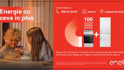 Enel a lansat prima sa campanie națională în România cu premii constând în produse electrocasnice