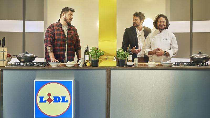 Bucătar după ureche - primul show video marca Lidl România