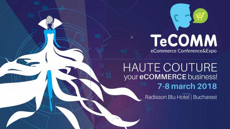 Profesioniștii în eCommerce și proprietarii de magazine online au luat parte la 2 zile de conținut premium la TeCOMM