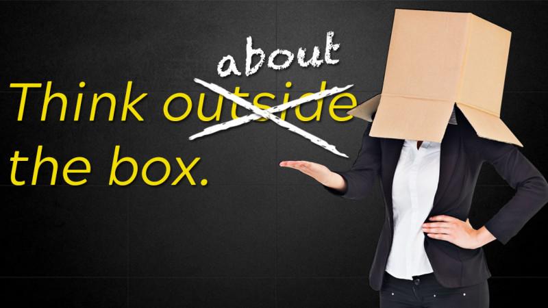 Think outside the box is overrated. Think about the box. Pack Romania - Concurs de design și producție de ambalaj de serie limitată