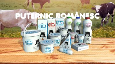 Lapte SIM – Puternic românesc. Noua campanie semnată GAV