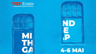 4 speakeri noi la TEDxEroilor Mind The Gap