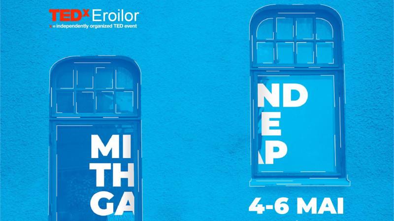 4 speakeri noi la TEDxEroilor Mind The Gap