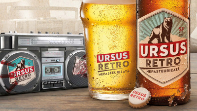 URSUS lansează noua bere URSUS RETRO care readuce distracția legendară de altădată
