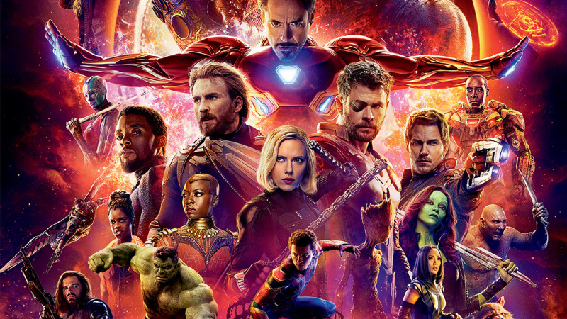"""Vedetele s-au aliat împotriva temutului Thanos la avanpremiera filmului """"Răzbunătorii: Războiul Infinitului"""""""