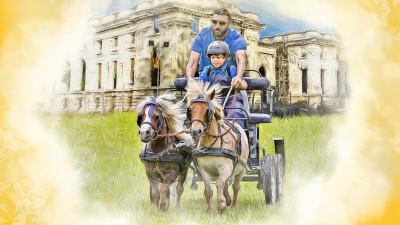 Poneii reiau spectacolul ecvestru la Karpatia Pony Show 2018, ediția a II-a
