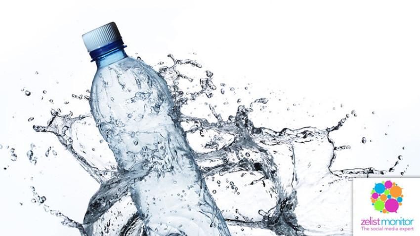 Cele mai vizibile branduri de apa in online si pe Facebook in luna aprilie 2020