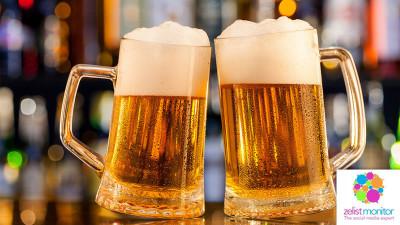 Cele mai vizibile branduri de bere in online si pe Facebook in luna martie 2018